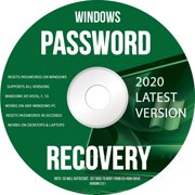 Ralix Windows Password Recovery DVD - Supports All Versions Windows XP, Vista, 7, 10 Resets Passwords in Seconds - 32/64 Bit (Latest Version)