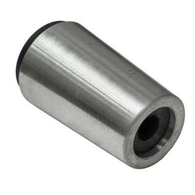 """Nozzle, Tungsten Carbide, Straight Bore, 1/8"""" Bore, Alum Jacket"""