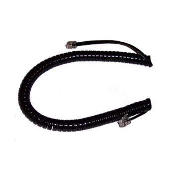 avaya 9 ft. black handset cord for partner 6, 6d, 18, 18d, 18d series 2, 34d, 34d series 2
