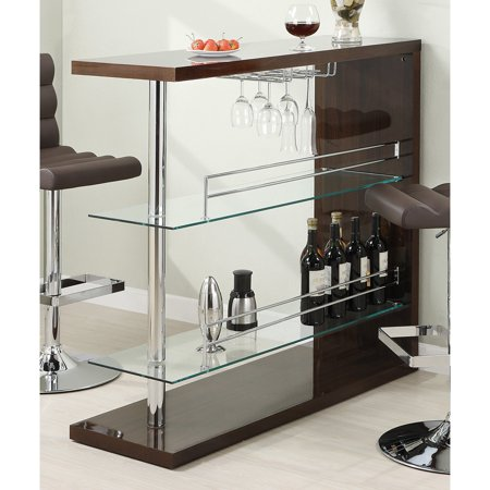 Coaster Company Bar Table, Cappuccino
