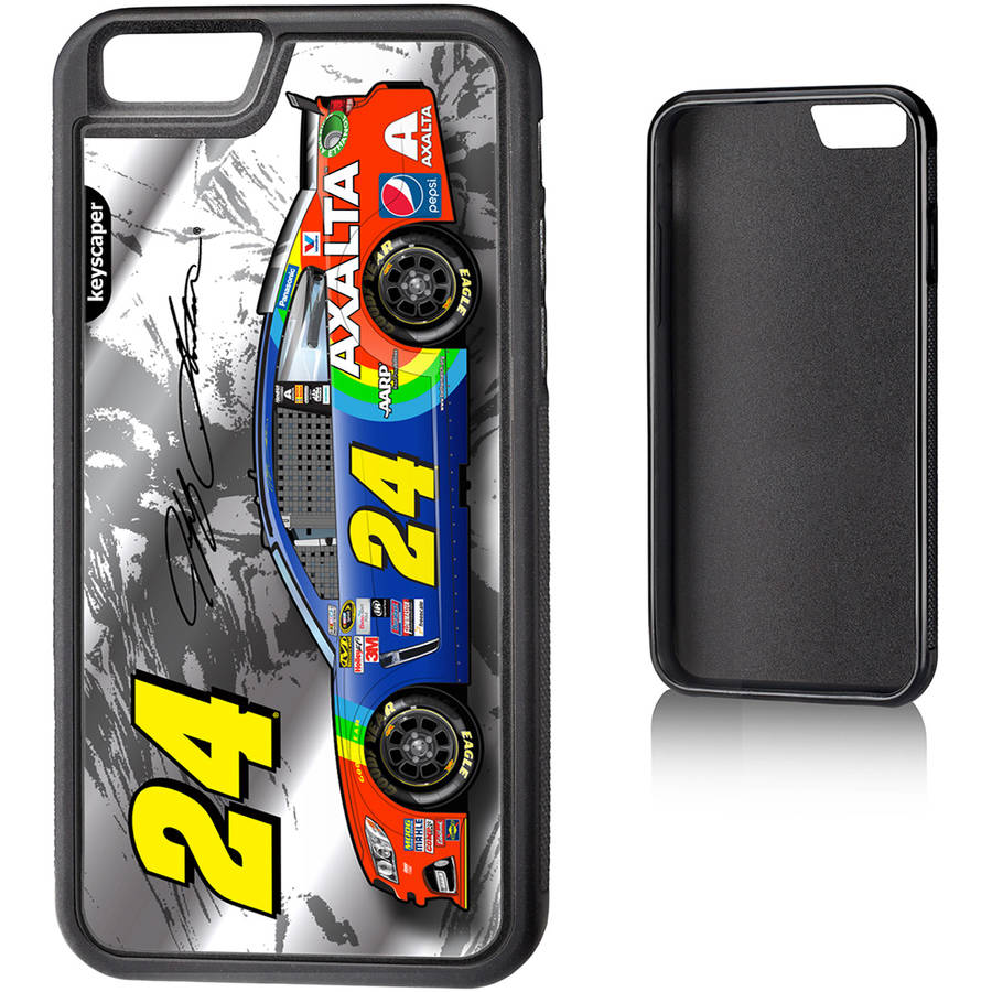 Jeff Gordon 24 Axalta Silver Apple iPhone 6 Bump Case by Keyscaper