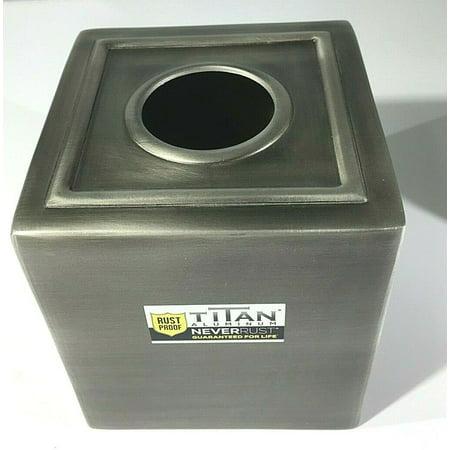 New Titan Legacy Aluminum Never Rust Tissue Boutique in Pewter Never Rust Aluminum Wire