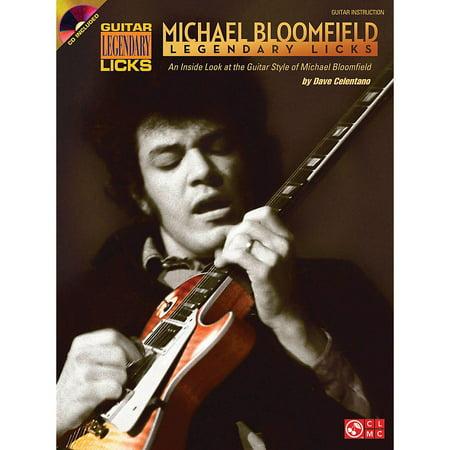 - Cherry Lane Michael Bloomfield - Legendary Licks Book/CD