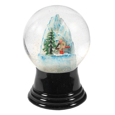 Medium Skier Snow Globe