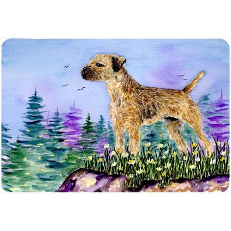 Border Terrier Mouse pad, hot pad, or trivet - image 1 de 1
