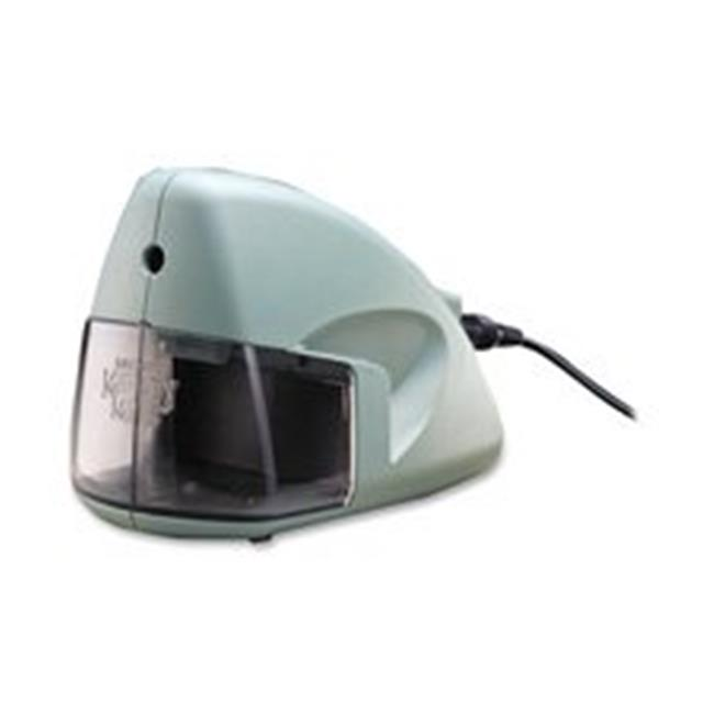 Elmerft. s Products Inc EPI19500 Electric Pencil Sharpener- 3-. 50inchx5inchx3-. 50inch- Mineral Green