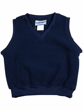 Kaynee - Little Boys Fleece Vest Navy / 10/12
