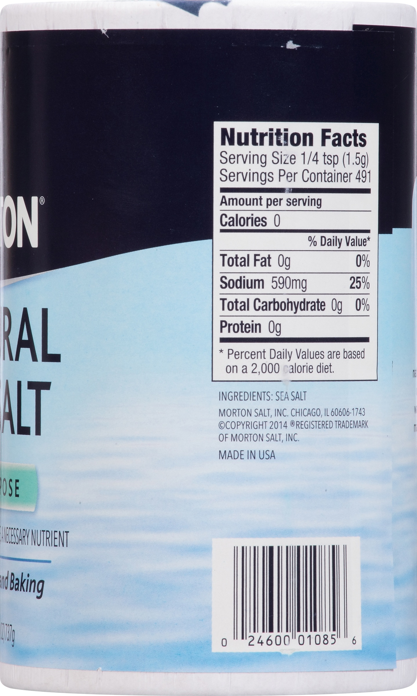morton natural all purpose sea salt oz com