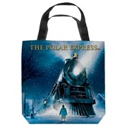 Polar Express Poster Tote Bag White 18X18