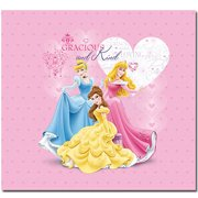 "Sandy Lion Princess Glitter Postbound Album, 12"" x 12"""