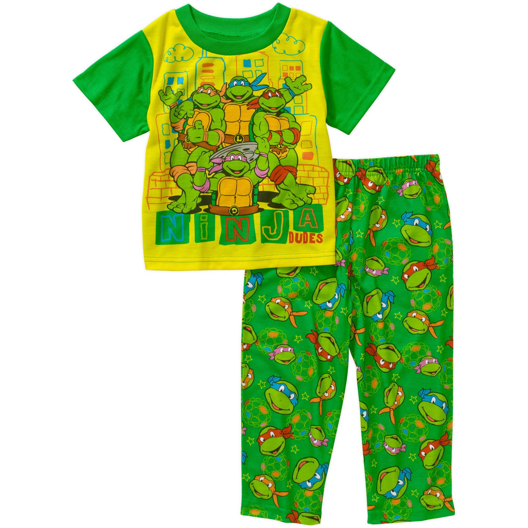 Teenage Mutant Ninja Turtles Toddler Boy Short Sleeve Pajama Sleepwear Set