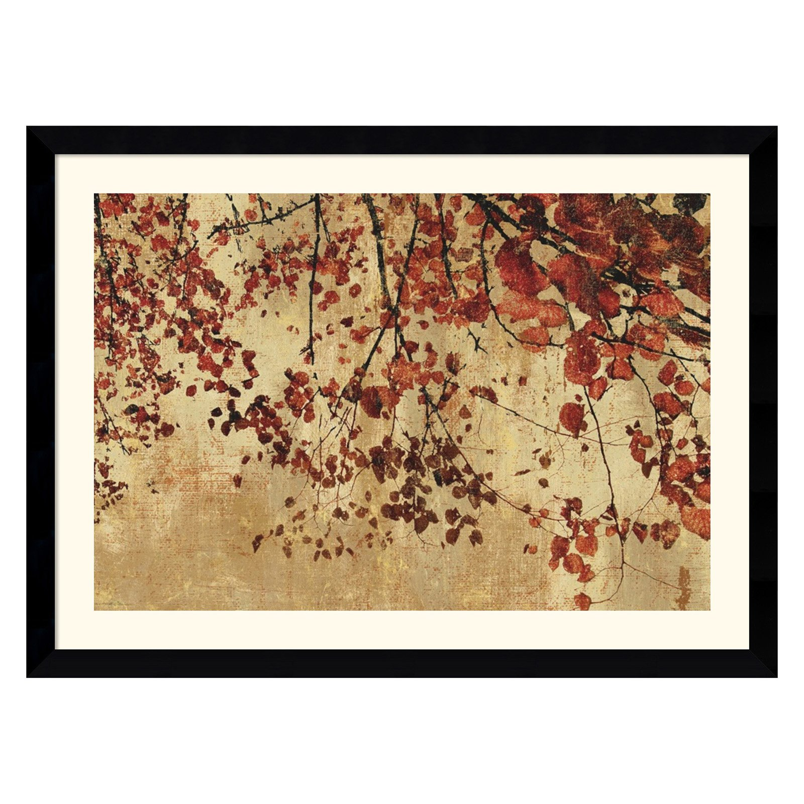 Colorful Season Framed Wall Art - 42.62W x 31.24H in.