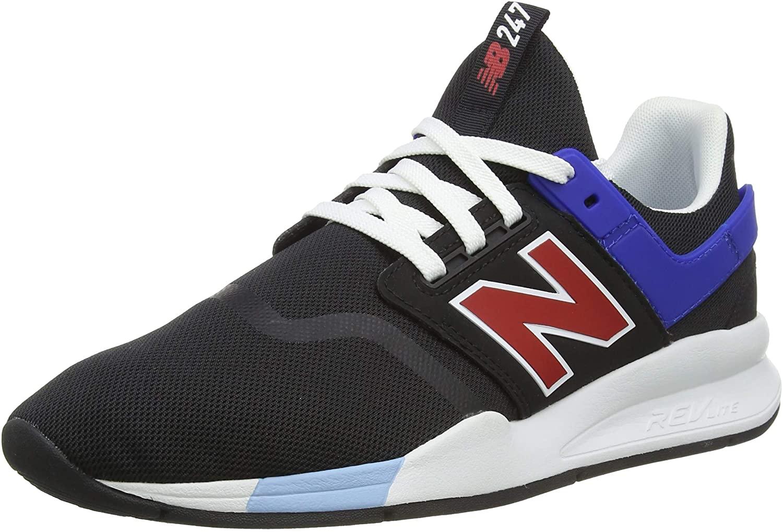247 V2 Sneaker, Black/Team red, 4 D