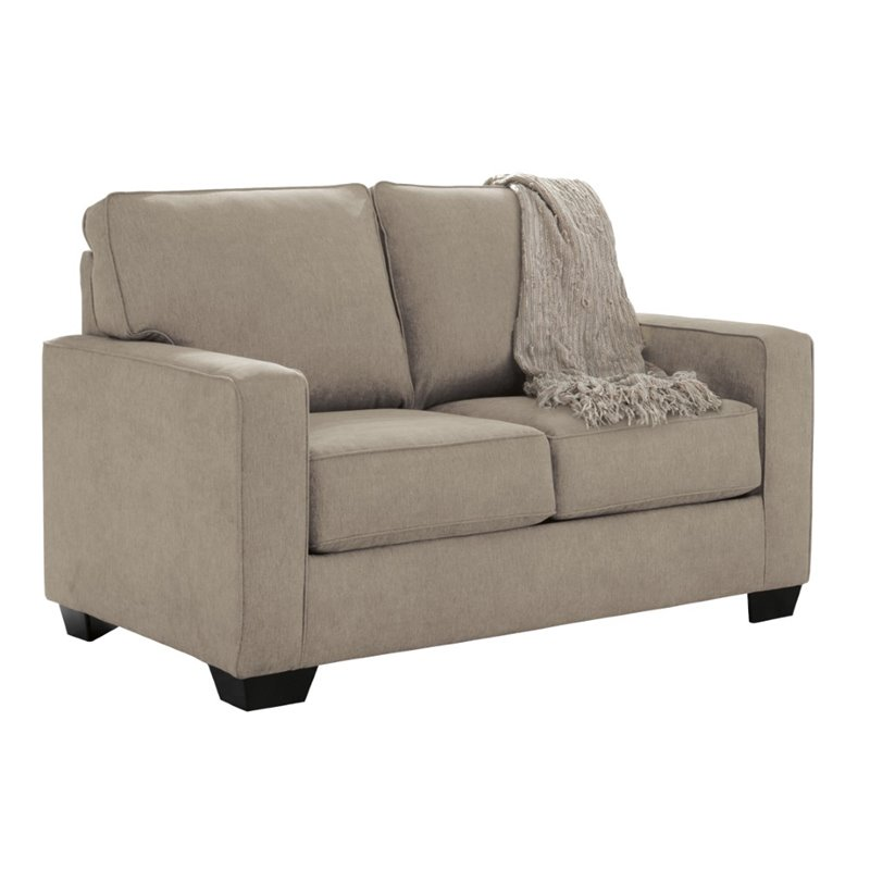 Ashley Zeb Full Sleeper Sofa in Quartz Walmart