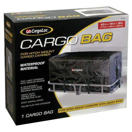 CargoLoc 32509 Cargo Luggage & Storage Bag for Car Rooftop Hitch Mount