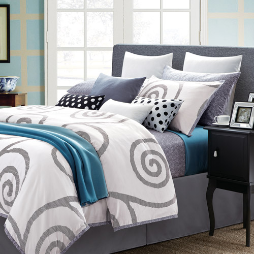Serenity White 7-Piece Duvet Set