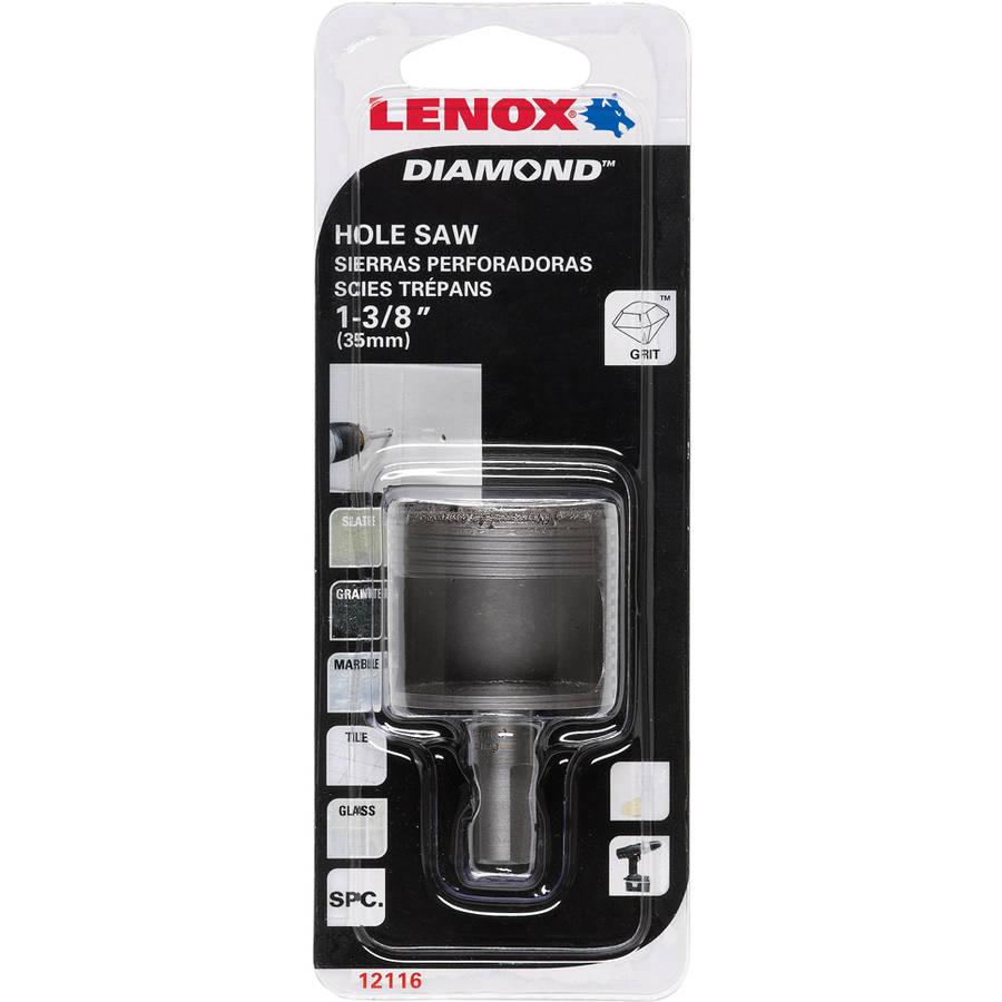 "Lenox 1211622DGDS 1-3 8"" Diamond Holesaw by Lenox"