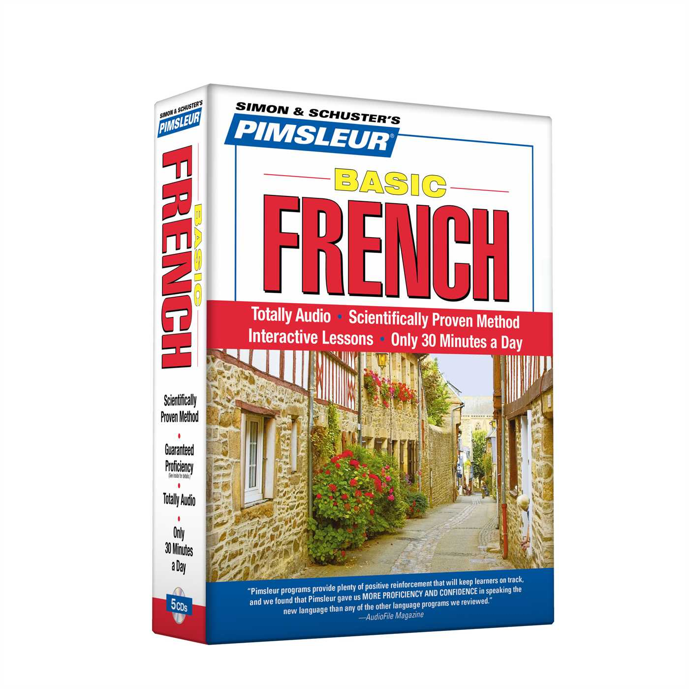 Pimsleur French Basic Course - Level 1 Lessons 1-10 CD : Learn to Speak and Understand French with Pimsleur Language Programs