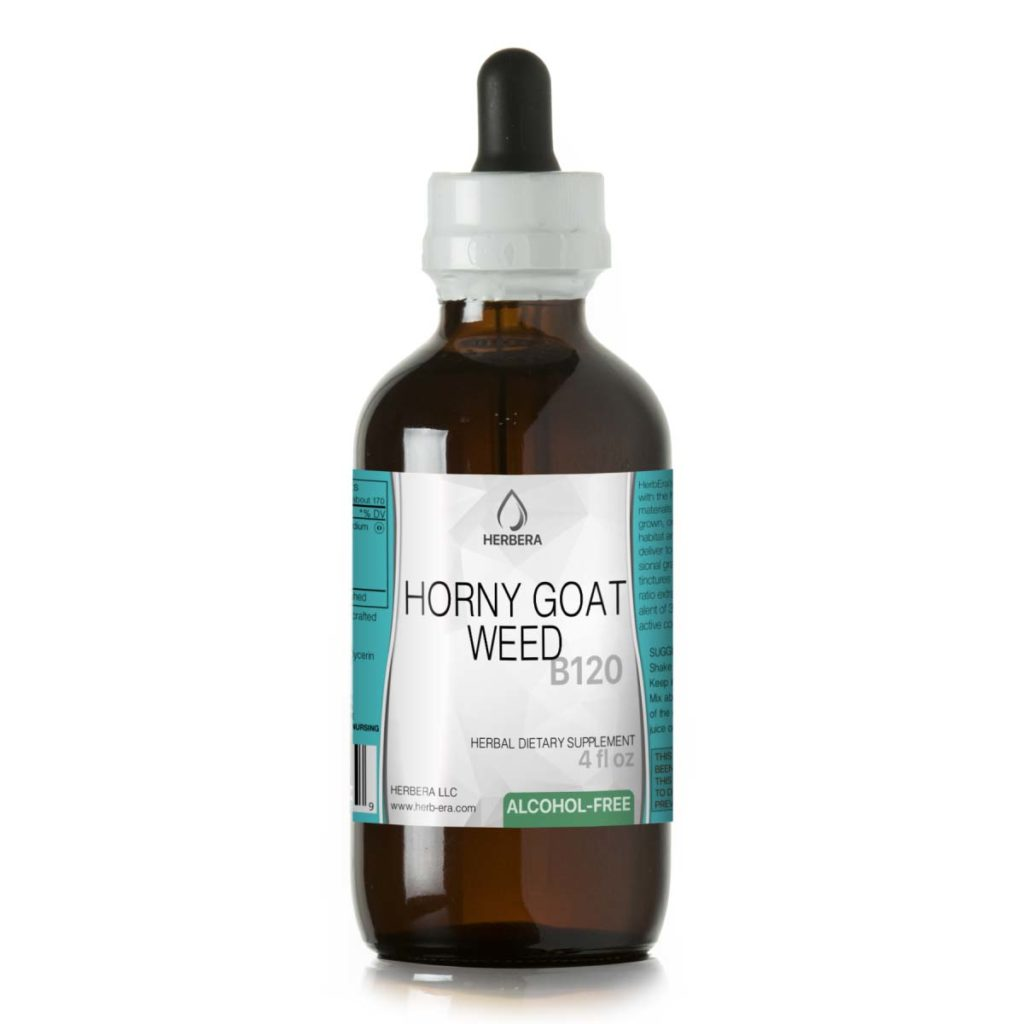 Horny goat weed alcohol