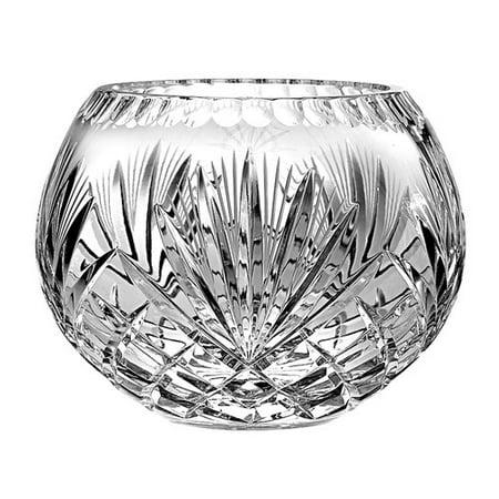 Majestic Crystal Rose Table Vase