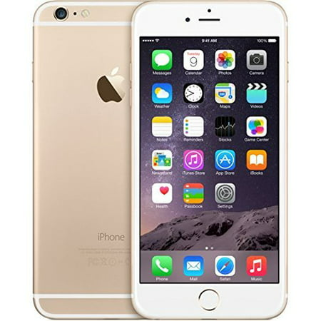 Refurbished iPhone 6 16GB Gold Unlocked ()