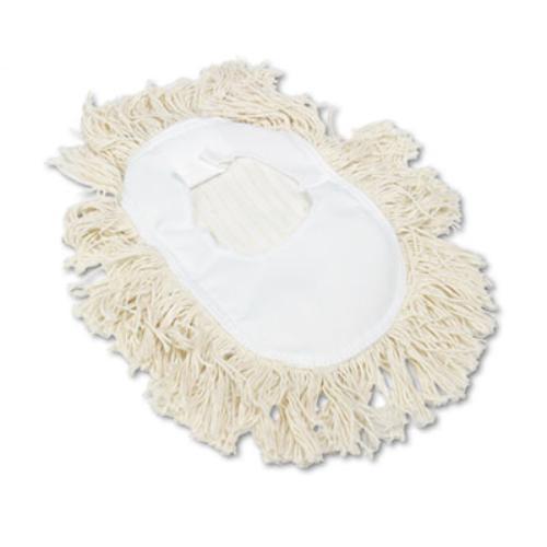 Boardwalk 1491 Wedge Dust Mop Head, Cotton, 17 1 2l X 13 1 2w, White by BOARDWALK