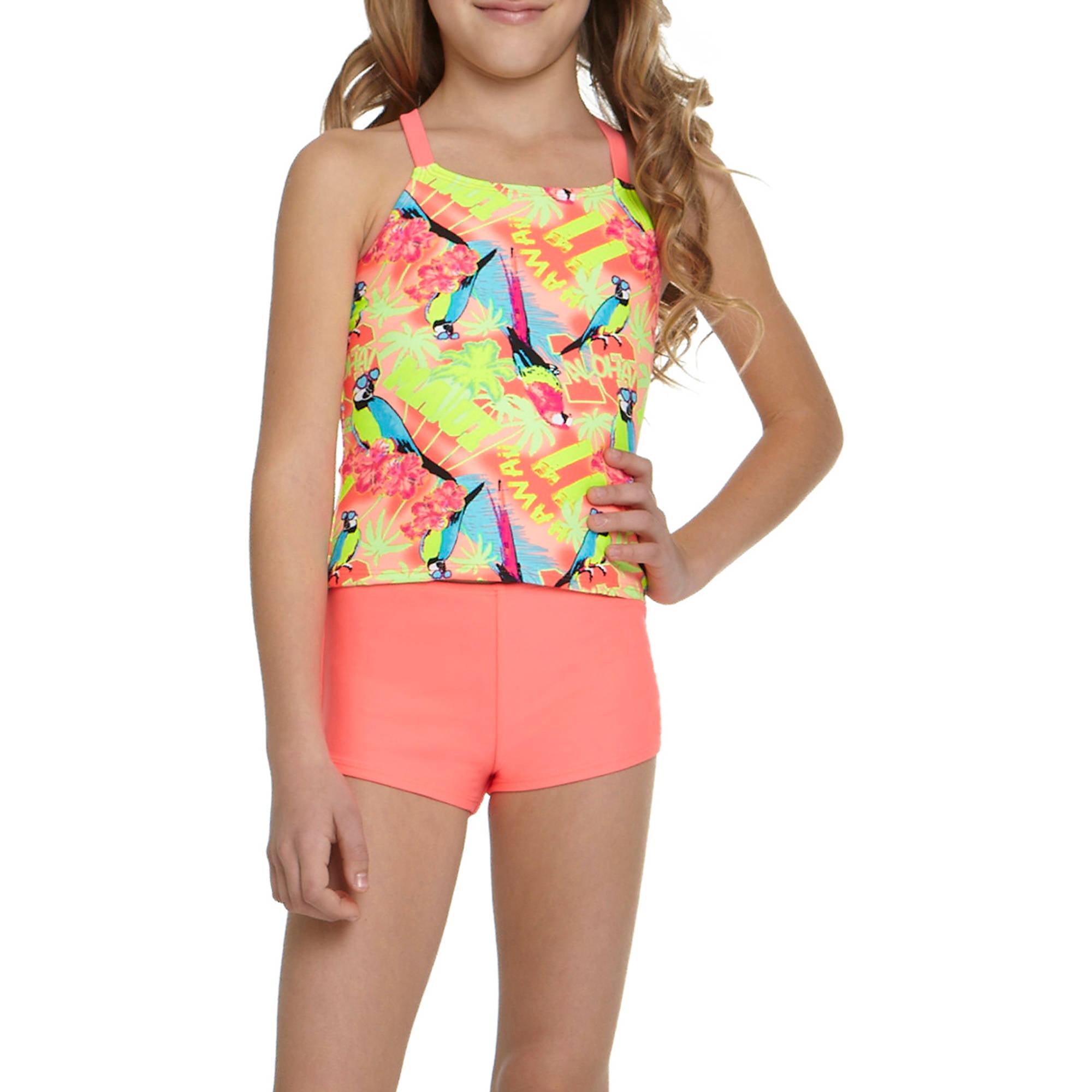 OP Girls' Wowie Maui Tankini Swimsuit