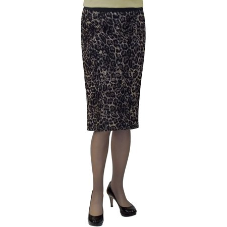 Women's Stretch Lace Pencil Skirt Cheetah 83% Discounted Price