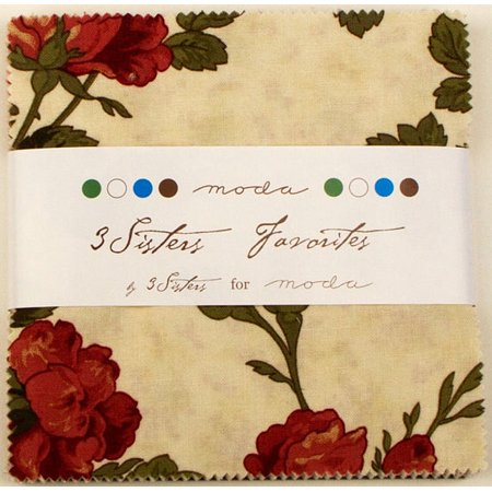 3 Sisters Favorites 2014 Moda Charm Pack by 3 Sisters; 42 - 5