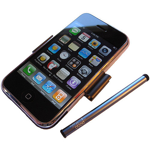 Silver Pogo Stylus for iPhone 3G/S