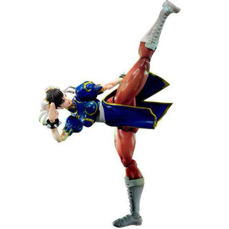 Street Fighter S.H. Figuarts Chun Li Action Figure](Chun Li Kiss)