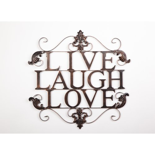 Byron Anthony Home Live Laugh Love Wall D cor