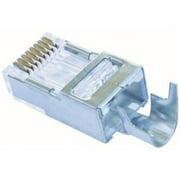 Platinum Tools EZ-RJ45 Shielded Cat5e-6 Connector, 10 Per Clamshell