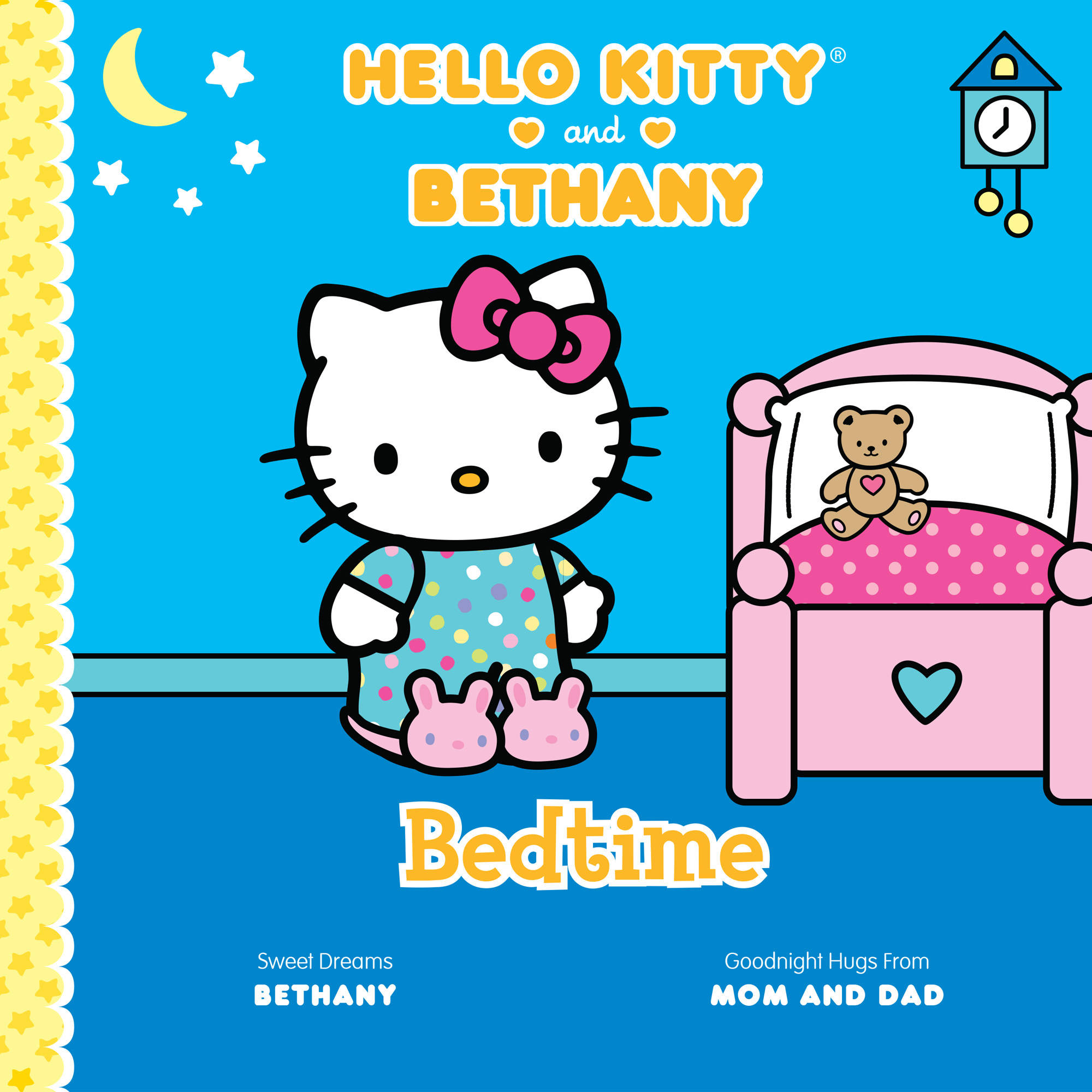 Personalized Book Bedtime: Hello Kitty and Me by Generic