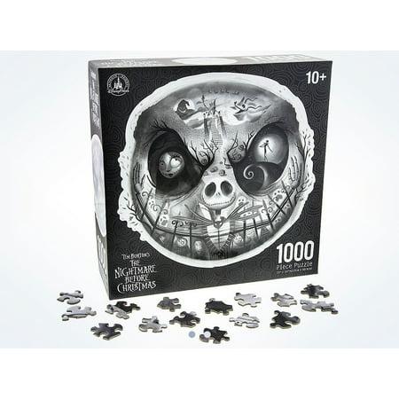 Disney Parks Jack Skellington 1000 Piece Puzzle New with Box