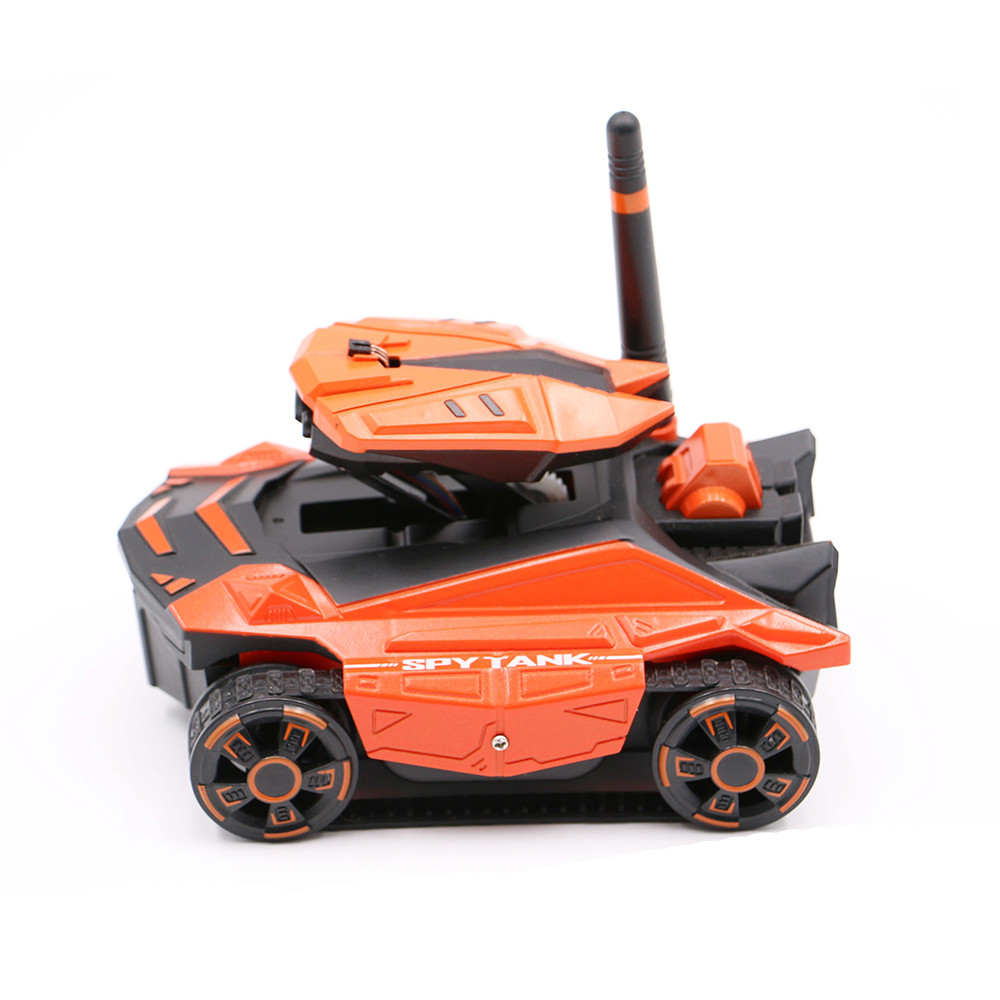 Iuhan YD-211 Wifi FPV 0.3MP Camera App Remote Control Spy Tank RC Toy Phone Controlled by