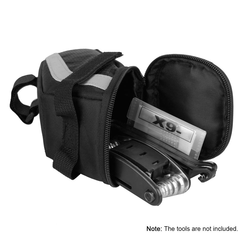 Bike Saddle Bag Cycling Seat Tail Bag Pouch MTB Bicycle Storage Bag