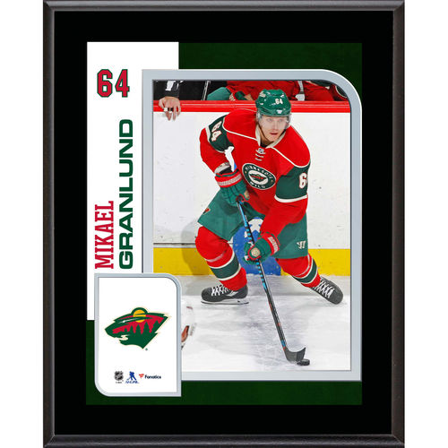 "Mikael Granlund Minnesota Wild 10.5"" x 13"" Sublimated Player Plaque - No Size"