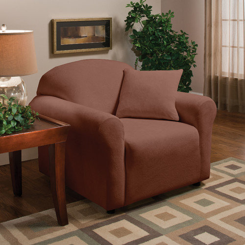 Madison Home Stretch Microfleece Armchair Slipcover