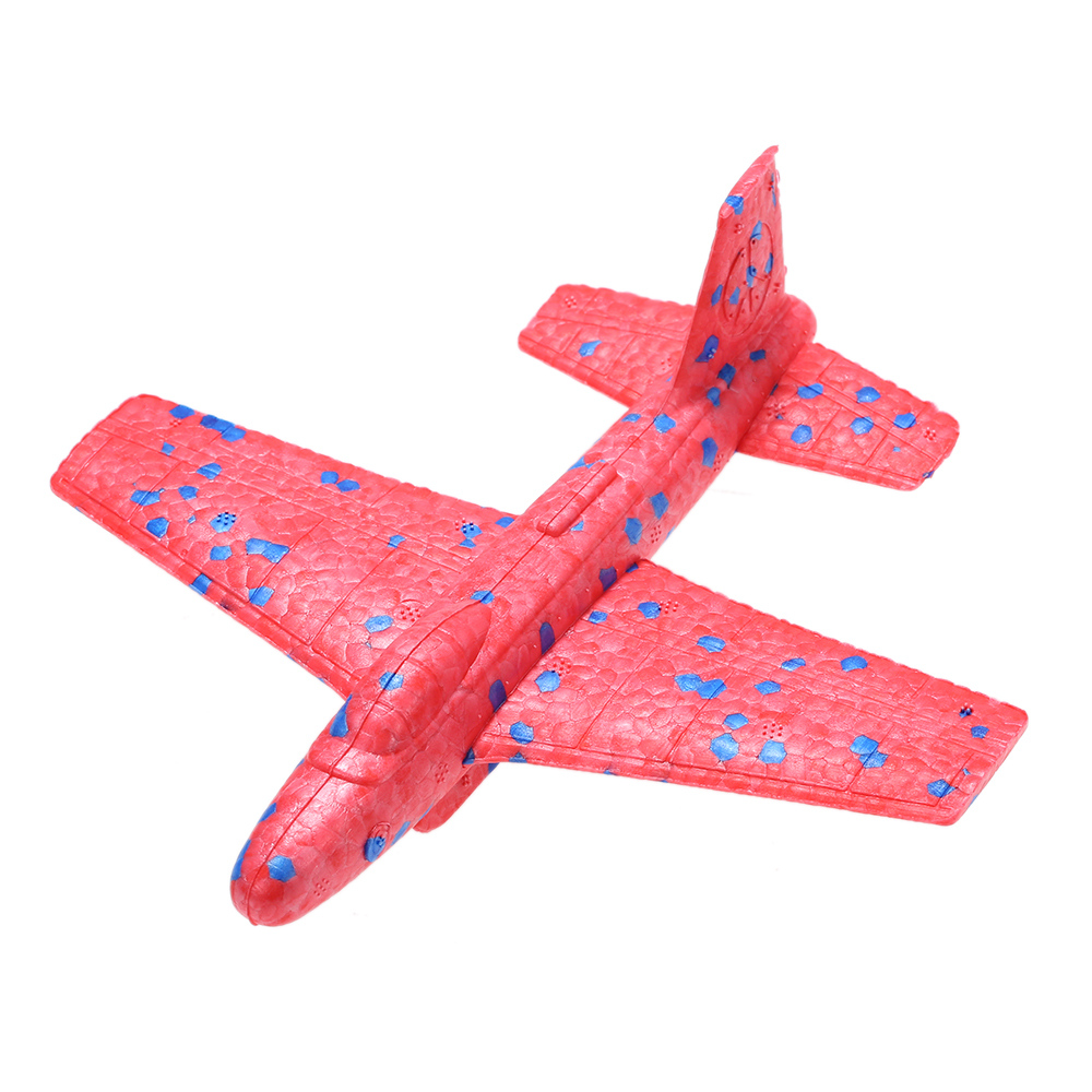 Children Hand Throw Launch Plane Model Outdoor Handmade Flying Glider Airplanes Foam Roundabout Aircraft... by