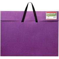 "School Specialty Velcro Durable Dura Art Portfolio, 23"" x 31"", Purple"