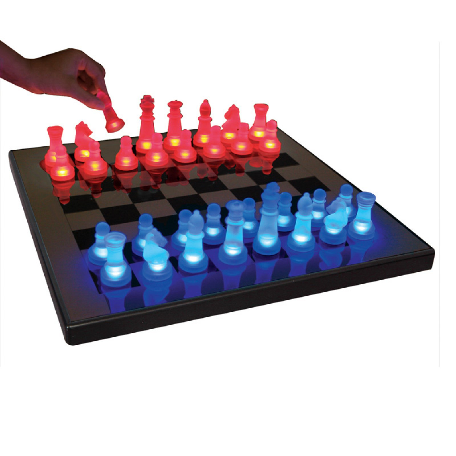 Lumisource LED Glow Chess Set
