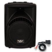 "Podium Pro PP1204CA Powered 12"" Speaker with Bluetooth MP3 DJ PA Karaoke Band"