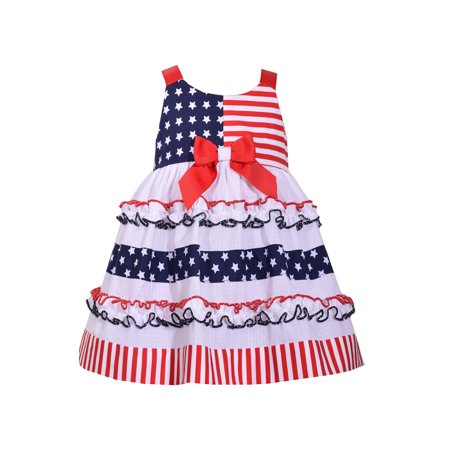 4th of July Ruffle Flag Dress 18 months (4th Of July Dress)