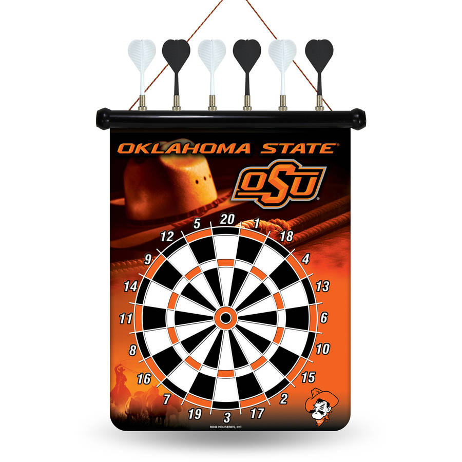 Rico NCAA Magnetic Dart Set, Oklahoma State Cowboys by Rico Industries