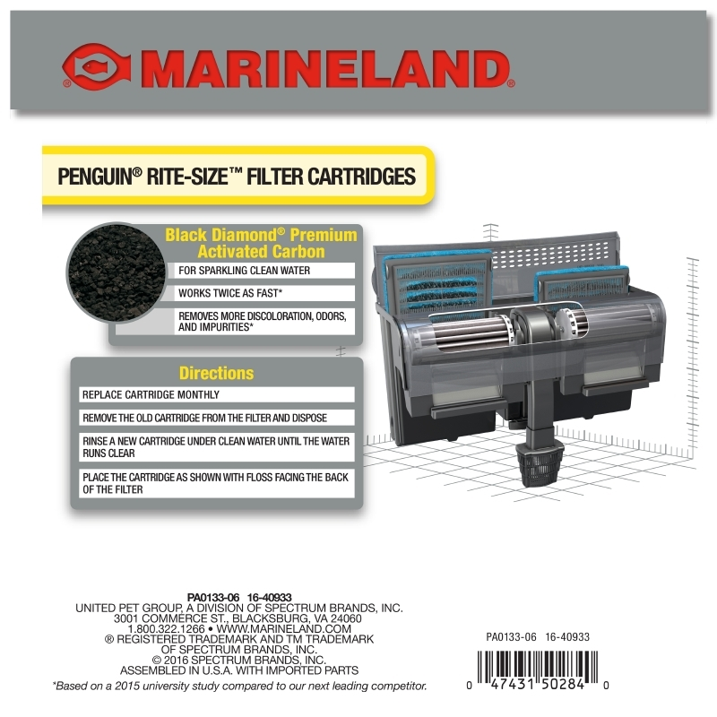 Rite-Size Penguin Power Filter Cartridge Size C