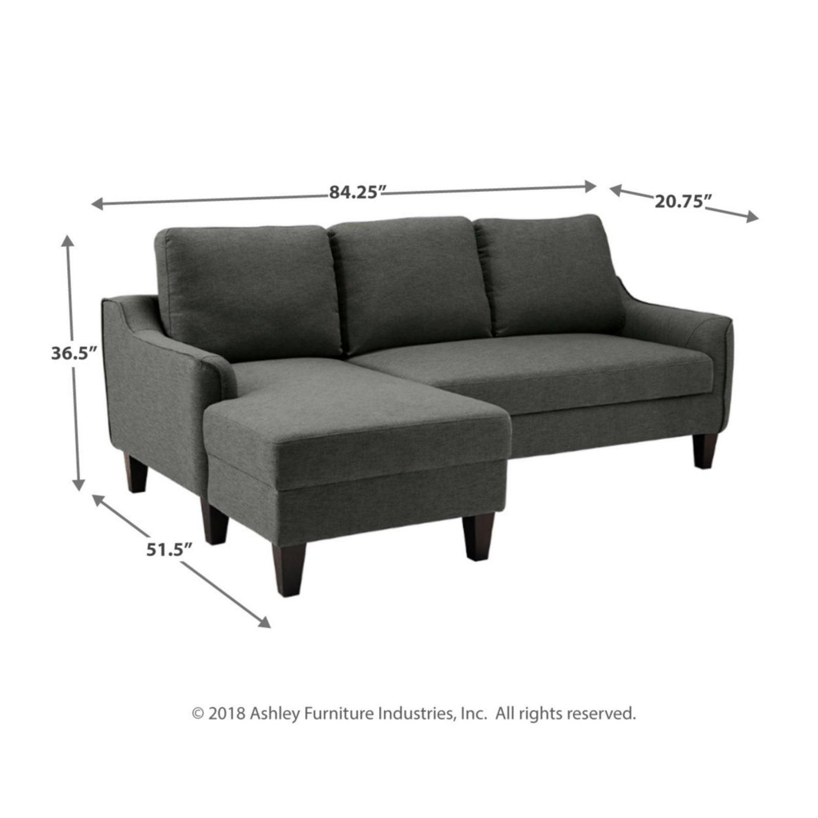 Signature Design By Ashley Jarreau Chaise Sofa Sleeper
