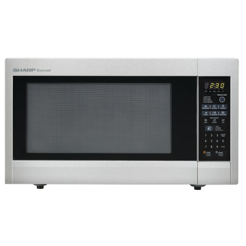 Sharp R651ZS Carousel Countertop Microwave Oven 2.2 cu. ft. 1200W Stainless Steel