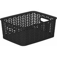 Product Image Simplify Herringbone Storage Bin