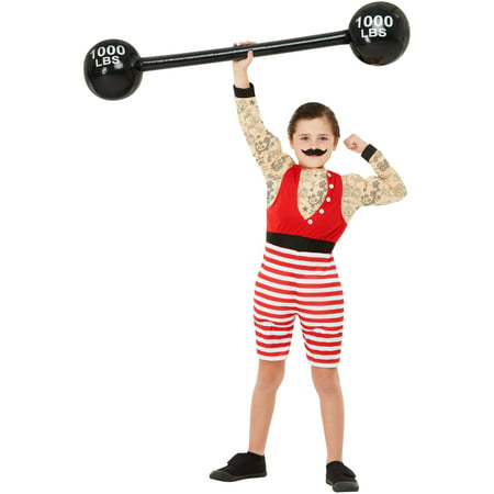 Boy's Vintage Circus Carnival Strongman Deluxe (30's Costumes For Halloween)